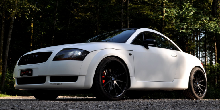Auto Abegglen Audi Lackierung